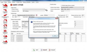 ESS - obrazovky programu