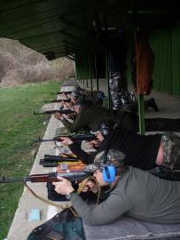 Strelecký tréning 16.4.2011